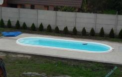 "Галерея басейну серії ""Лагуна"""