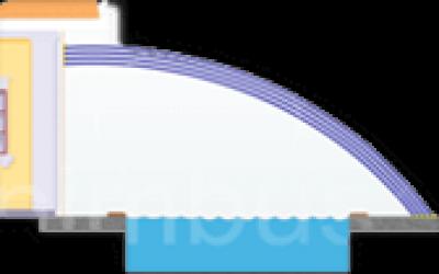 Павильон для бассейна «Exclusive»